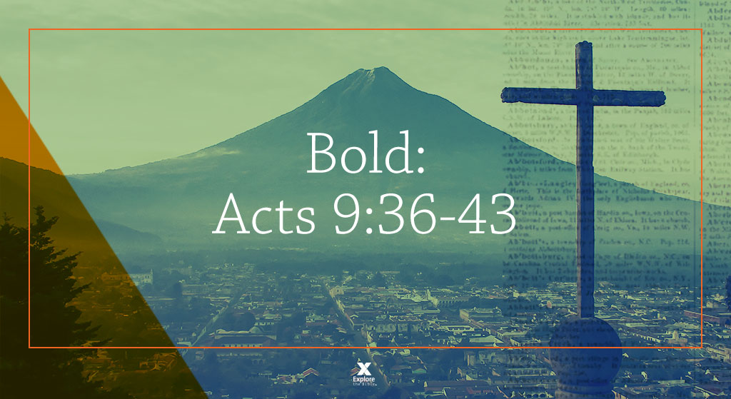 Acts 9:36-43