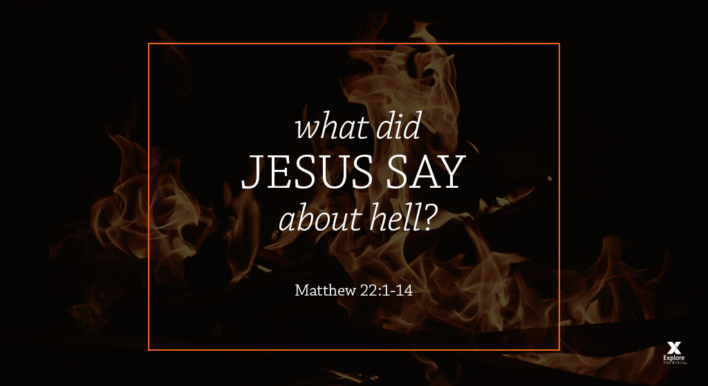 What did Jesus say about hell?